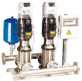 Установка повышения давления BOOSTER WatT 2SBI 45-3-11,0-100