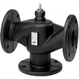 Клапан трехходовой фланцевый Siemens VXF40.50-40