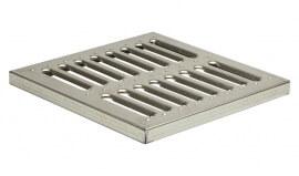 Решетка для дождеприемника штампованная стальная оцинкованная