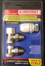 Термостатический комплект угловой LUXOR KT 202