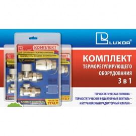 Термостатический комплект угловой LUXOR KT 201