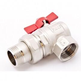 Itap IDEAL 298 1/2 Кран шаровой угловой с накидной гайкой полнопроходной