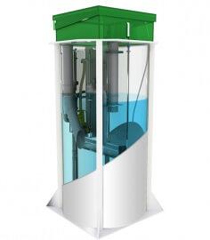 Автономная канализация АКВАЛОС 7 (h=3,00m)