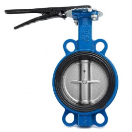 Затвор дисковый Water Тechnics BVGR WT Ду125 поворотный межфланцевый