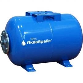 Гидроаккумулятор АКВАБРАЙТ 24л горизонтальный ГМ-24 Г